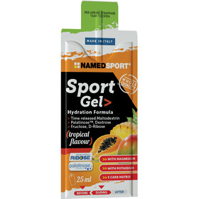NAMEDSPORT Sport Energy Gel Box 15 x 25ml, Tropical